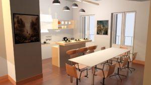 Vista cucina06 pavimento